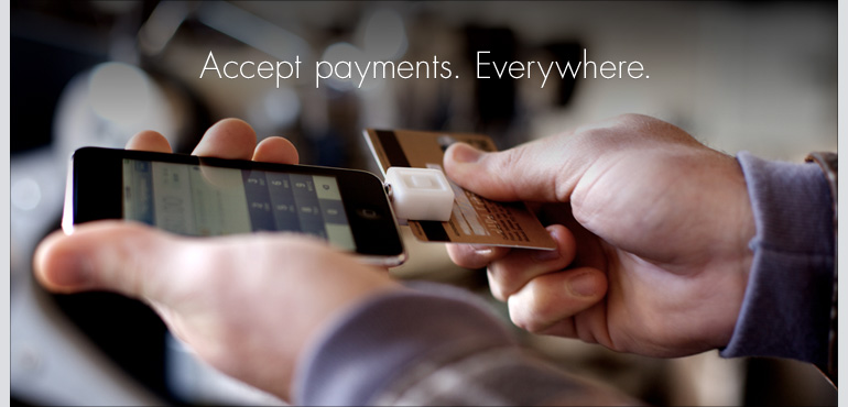 Accept payments anywhere.